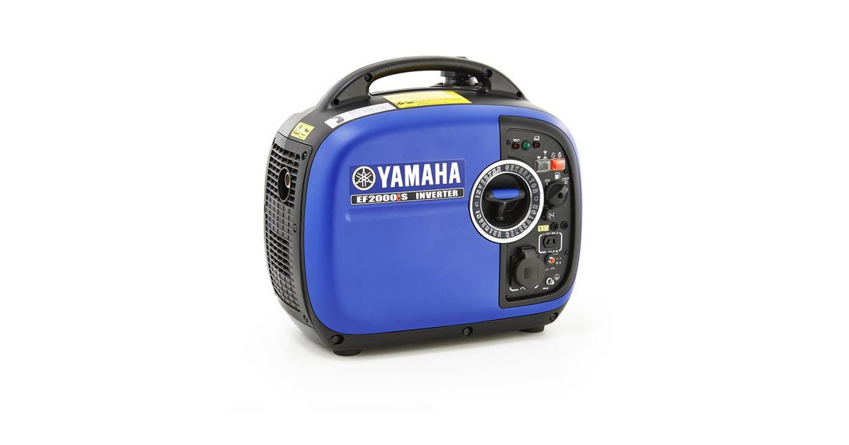 Yamaha EF2000iS Gas Powered Portable Inverter Generator