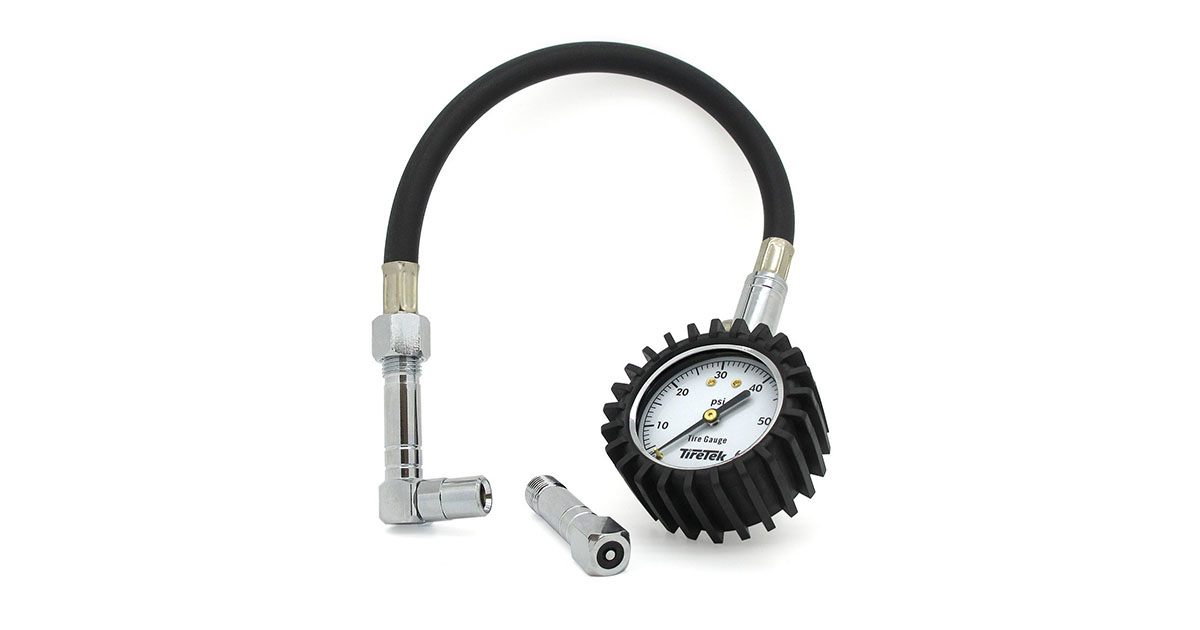 TireTek Flexi-Pro Tire Pressure Gauge Gold Pick