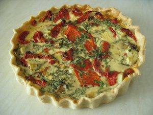 party foods quiche